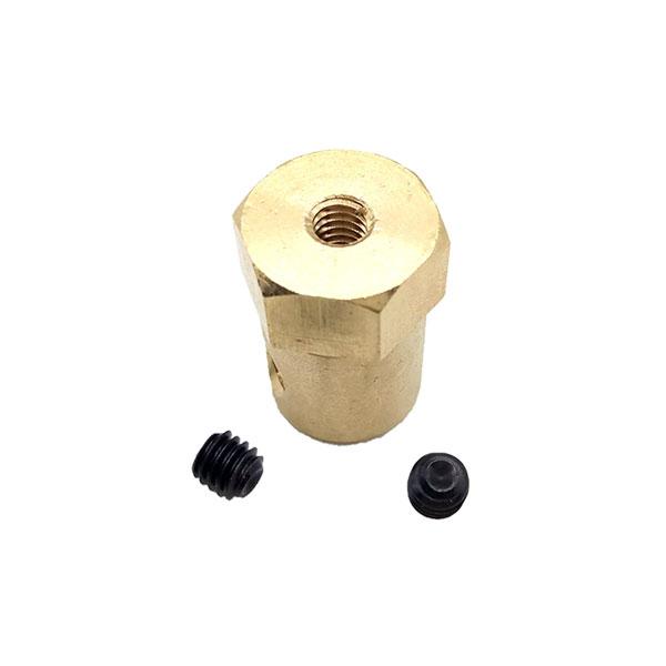Trascinatore 6 mm Ruota - esagono 12 mm
