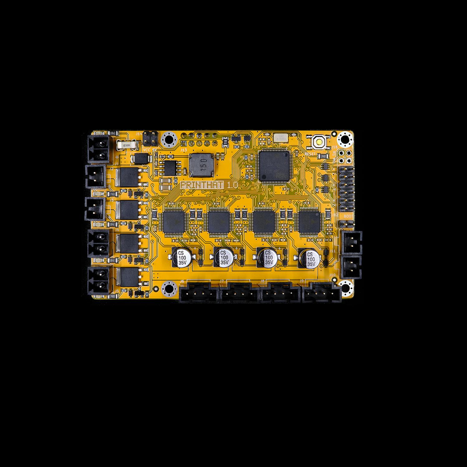 PrintHat v1 - 32-bit motor controller board for Raspberry Pi