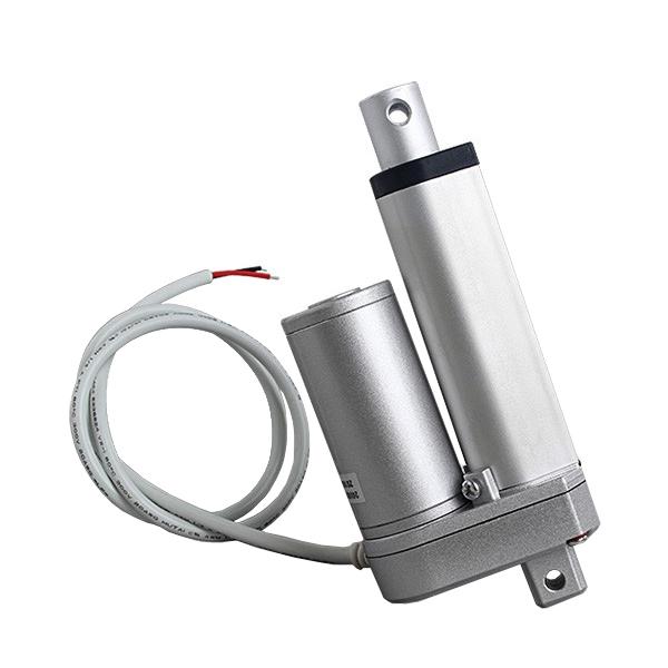 Attuatore lineare 24 V 100 kg - corsa 50 mm