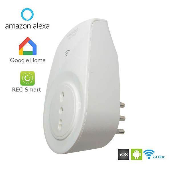 Presa WIFI con Misuratore di Consumo - Alexa e Google Home compa