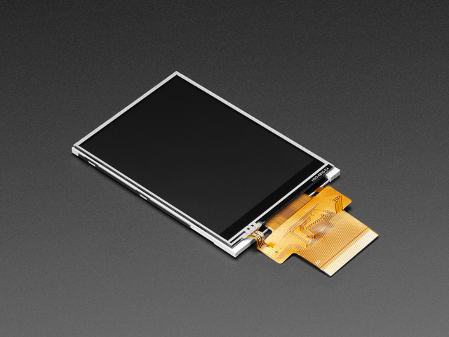 3.2 (inches) TFT Display with Resistive Touchscreen