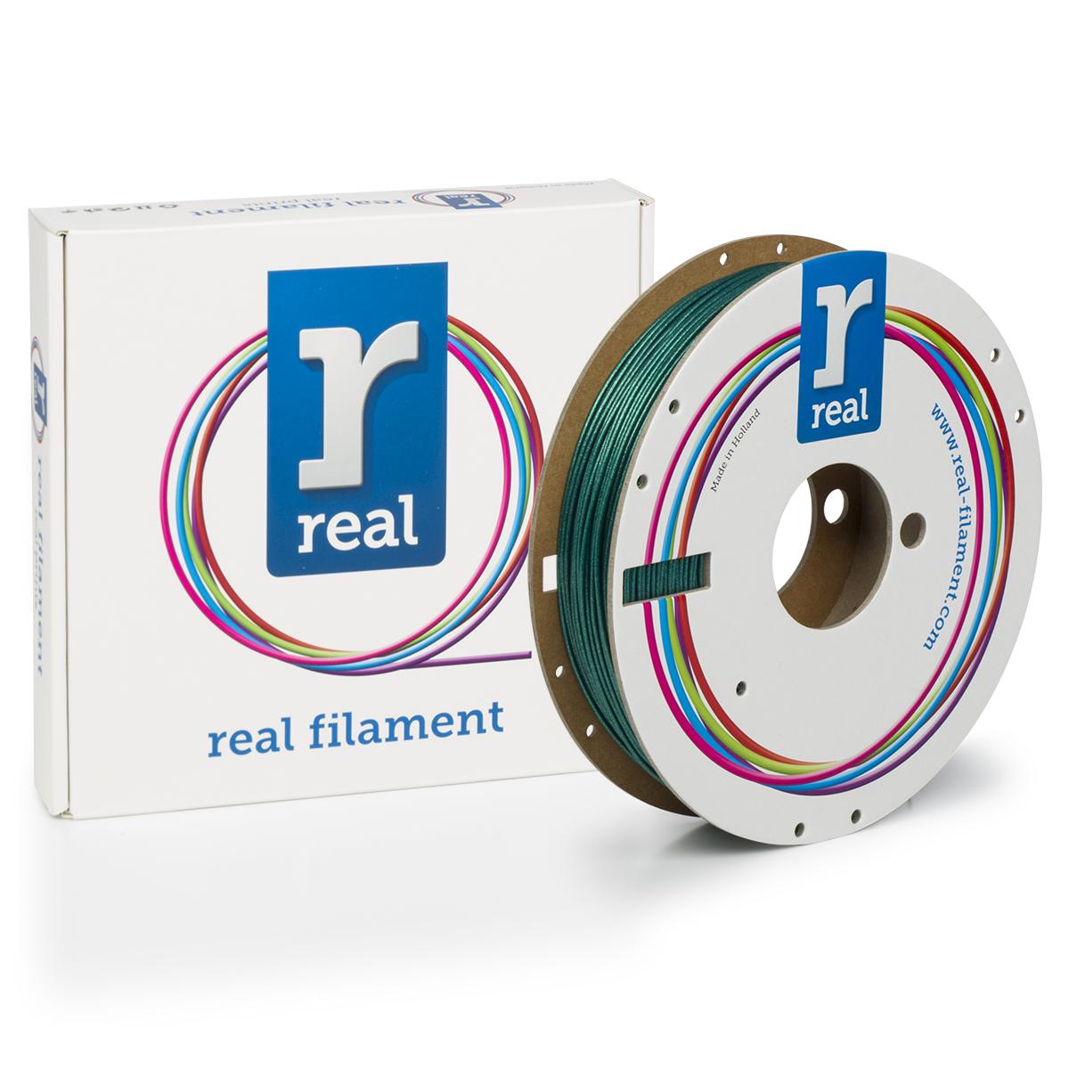 PLA filament Sparkle Quartz Orange 1.75 mm / 0.5 kg Real