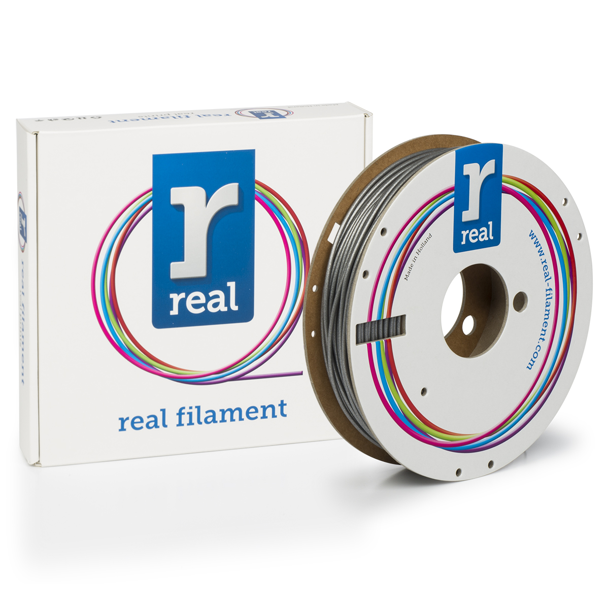 PLA filament Sparkle Quartz Orange 2.85 mm / 0.5 kg Real
