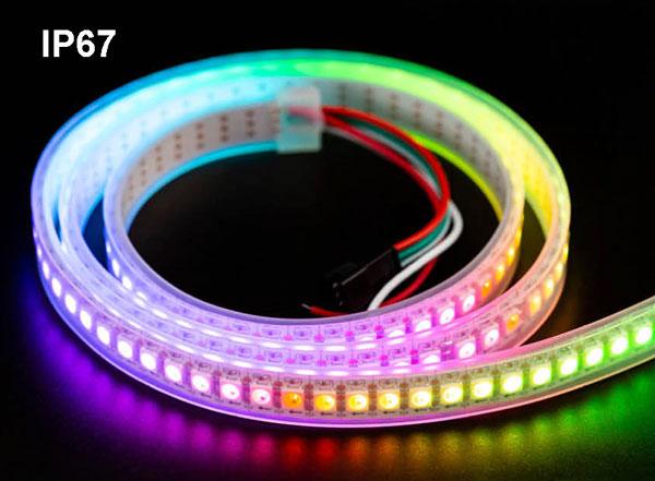 Strip 144 LED NEOPIXEL lunghezza 1 metro - IP67