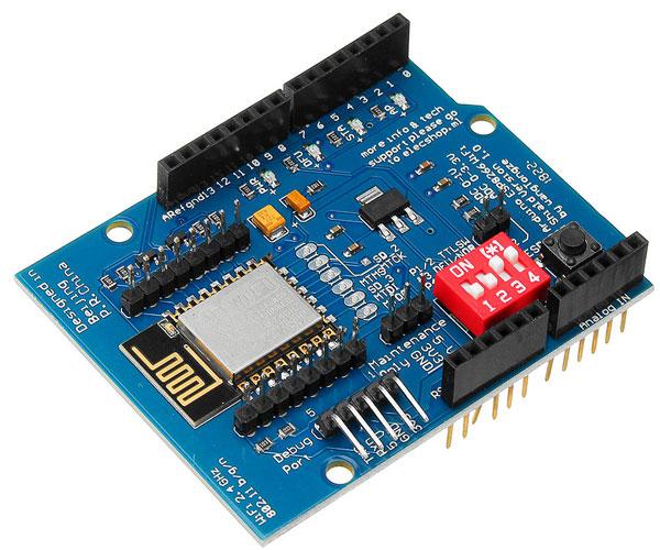 Shield Wi-Fi ESP8266 per Arduino