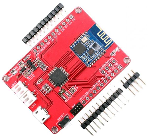 Maduino Zero con modulo Bluetooth HM-13