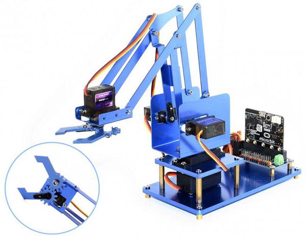 Braccio Robotico per Micro:bit