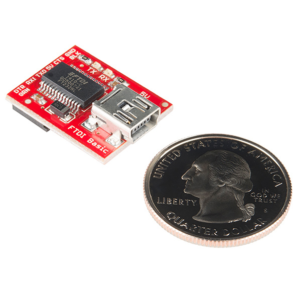 SparkFun FTDI Basic Breakout - 5V (Distro Black Friday)