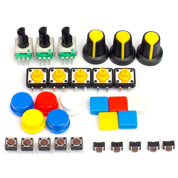 Switches & Potentiometers Kit