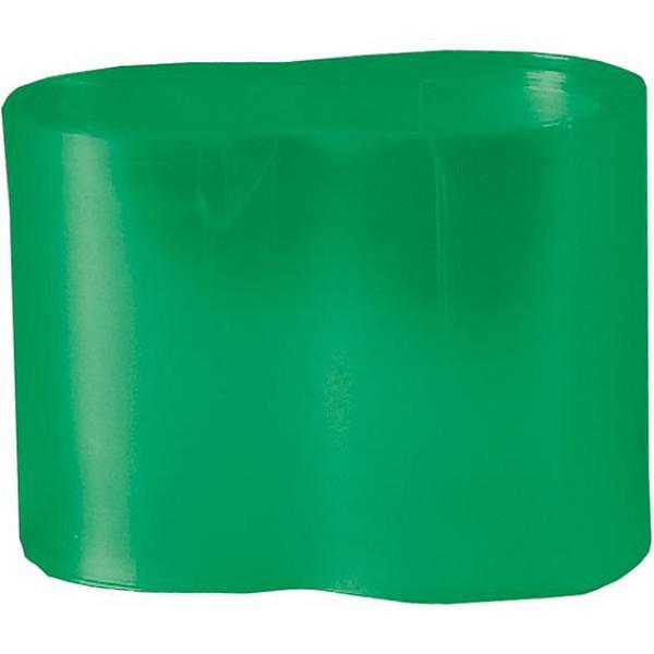 Guaina termoretraibile verde trasparente 69 mm x 100 cm