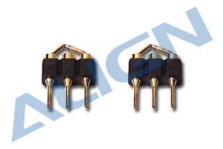 HS1235 T Rex 450 Connettori ricambio per kit voli notturni