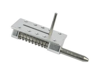 Chiusura capottine in alluminio perno acciaio 3mm