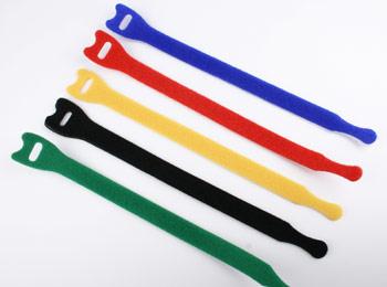 Fascette velcro 13x200mm colori misti (5 pz)