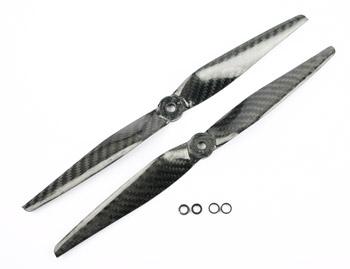Eliche carbonio coppia DX/SX 9x5 pala stretta