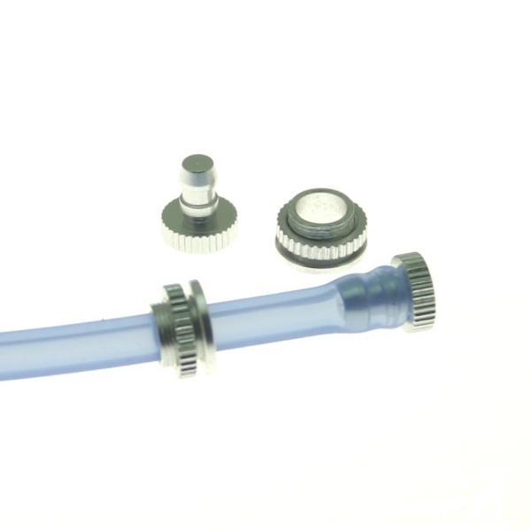 Tappi alluminio rifornimento e sfiato 2 pz.