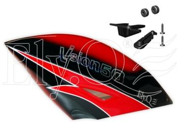 EQ2073 Vision 50 Ultimate e Competition - Capottina in fibra ver