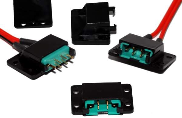 Contenitore con clips per Spina tipo MPX (4 pz)