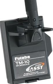 modulo FP TM-10 2.4 Ghz FASST 10CH PER T10