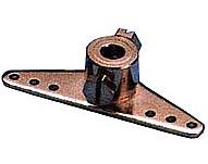 Squadretta metallo foro 5 mm