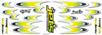 Decals RACING TEAM YELLOW