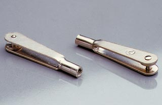 Forcella acciaio V 2,5 mm 10 pz.