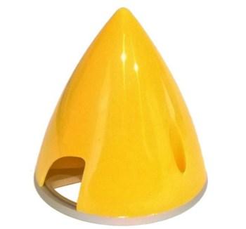 Ogiva nylon/alluminio 70 mm gialla