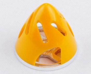 Ogiva nylon/alluminio 82 mm gialla con raffreddamento