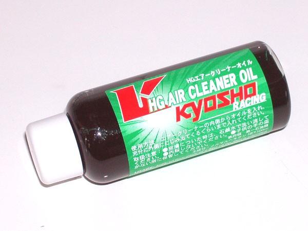 Olio per filtro aria verde 100CC