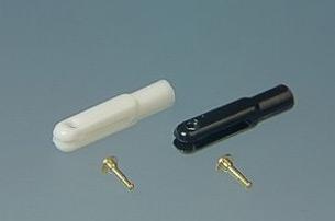 Forcella mini perno da 1 mm 10 pz