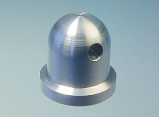 Dado ogiva alluminio 3 MA