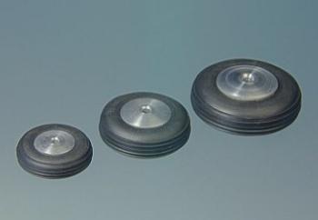 Ruota ø 22 mm mozzo alluminio