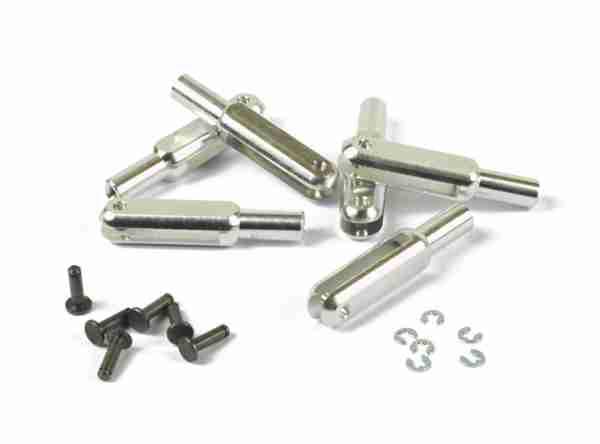 Forcella alluminio 23mm M2 - 2 pz