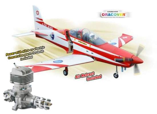 Pilatus PC21 20/30cc + DLE 35 RA