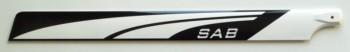 Pale carbonio 3D classe 250 255mm