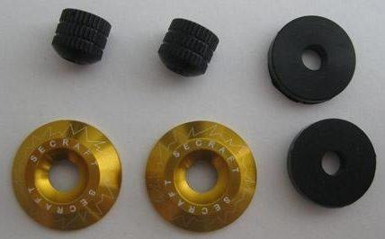 Canopy Lock - fissaggio capottina V1 M3 ORO - 2 pz
