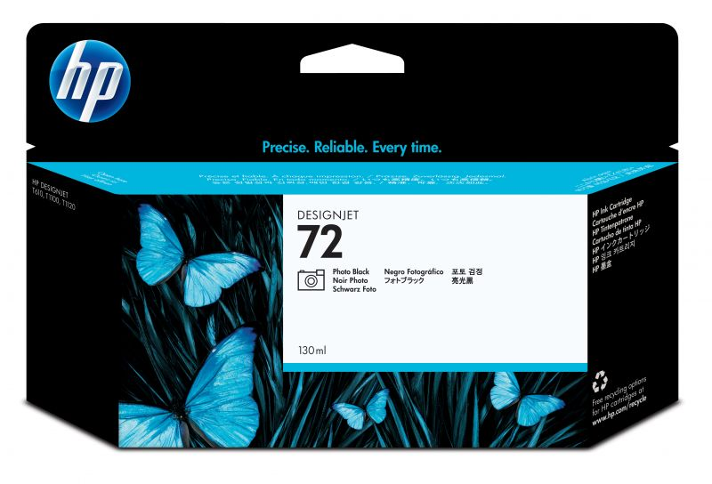 INK HP C9370A N.72 NERO 130ML