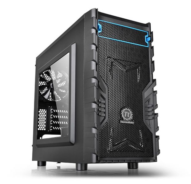 CASE MINI-TOWER NO PSU VERSA H13 USB 3.0*1 2.0*1 WINDOW BLACK