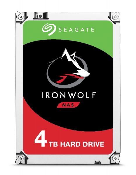HD 3,5 4TB 5900RPM 64MB IRONWOLF SATA3 SEAGATE