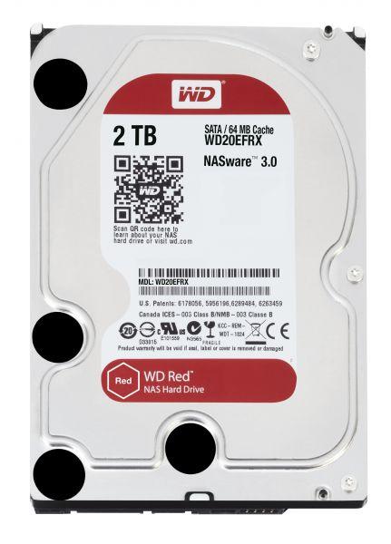 HD 3,5 2TB 5400RPM 64MB SATA3 RED WD RED NAS STORAGE