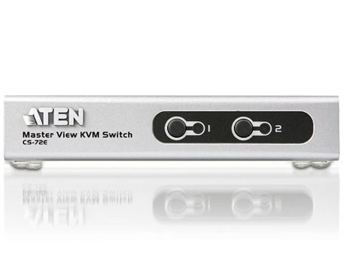 Master View 2 Porte PS2 o USB, CS72E