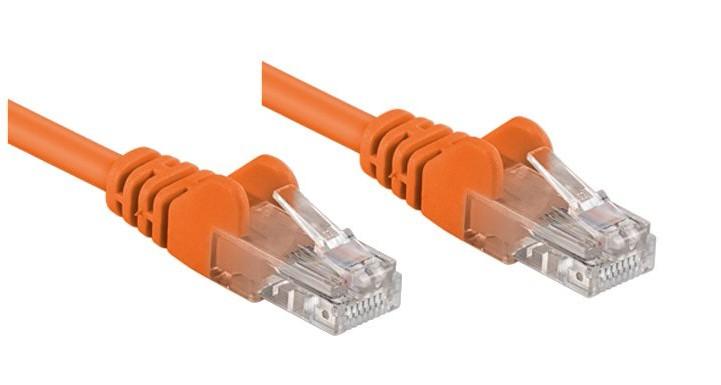 Cavo di rete Patch CCA Cat. 5e Arancio UTP 3 mt