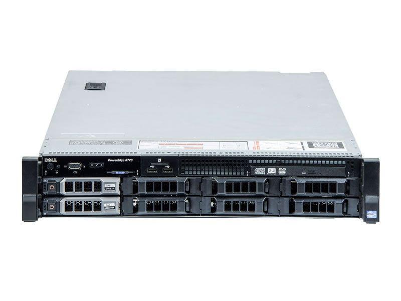 SERVER REF DELL R720 2XE5-2660 32GB 32GB DDR3ECC REG, HDD 2X 4TB