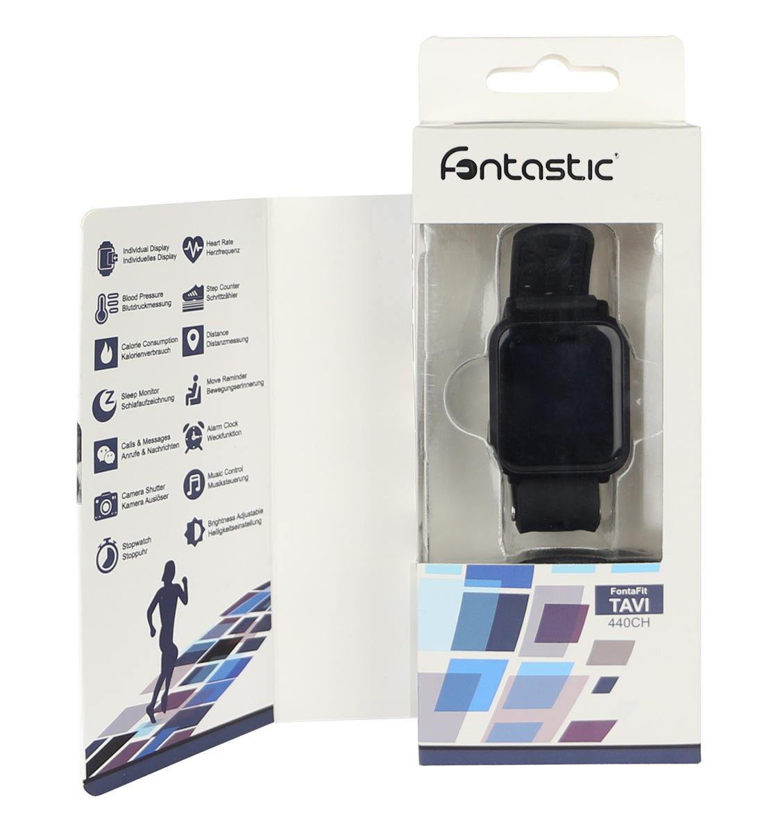 Bracciale Fitness Tracker Bluetooth 4.1 con Cardiofrequenzimetro