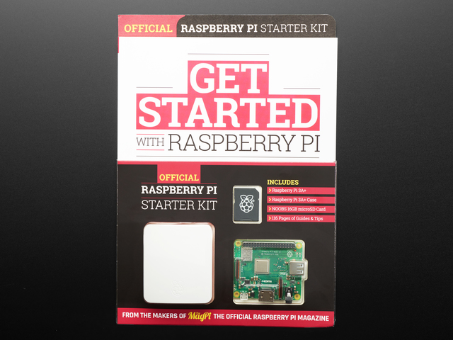 Getting Started with Raspberry Pi 3 A+ Book Bundle