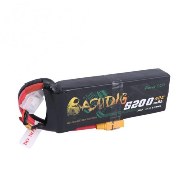 Batteria Lipo 3S 5200 mAh 40C - XT90
