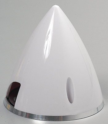 Ogiva nylon/alluminio 51 mm bianca