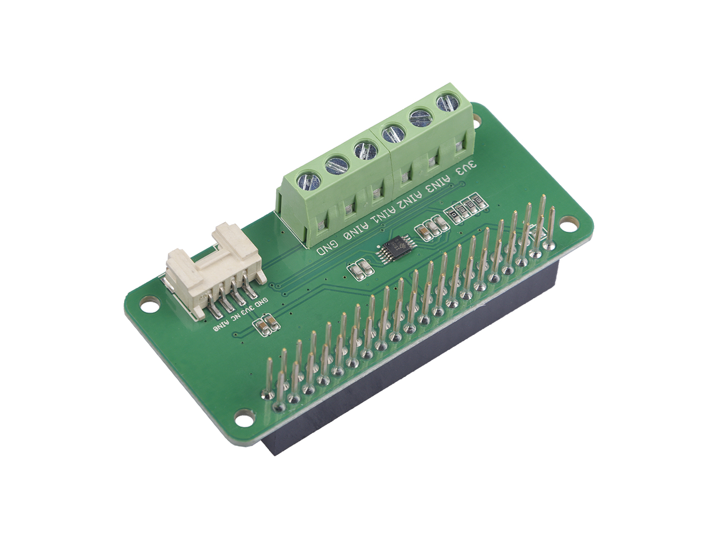 4-Channel 16-Bit ADC for Raspberry Pi (ADS1115)