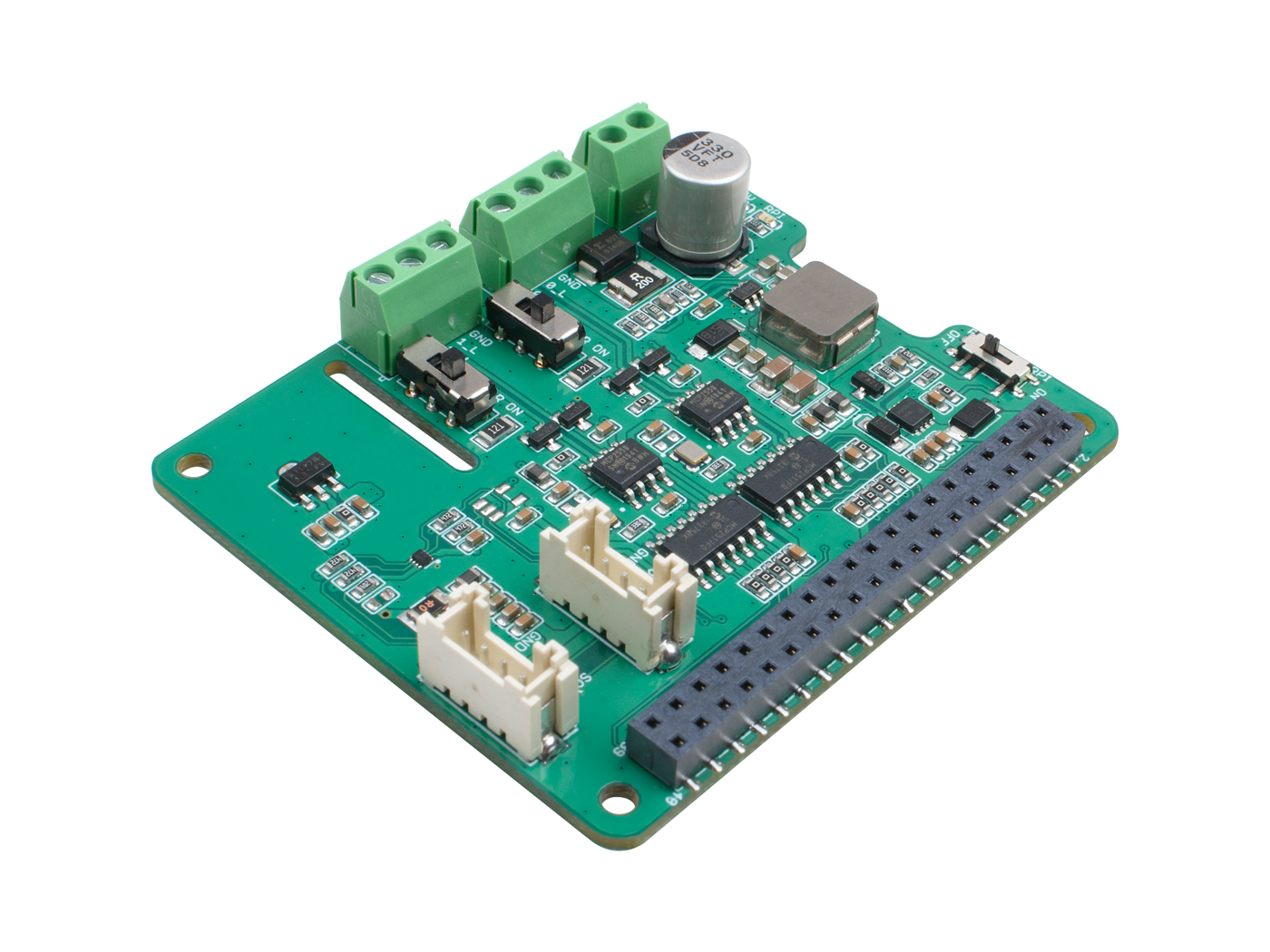 2-Channel CAN-BUS(FD) Shield for Raspberry Pi