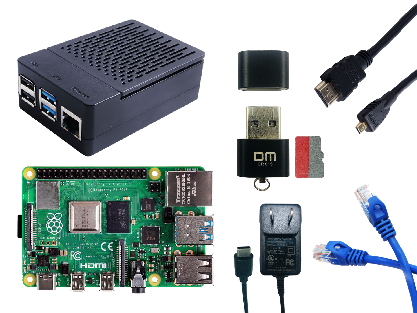 Raspberry Pi 4B - Starter Kit - 4GB
