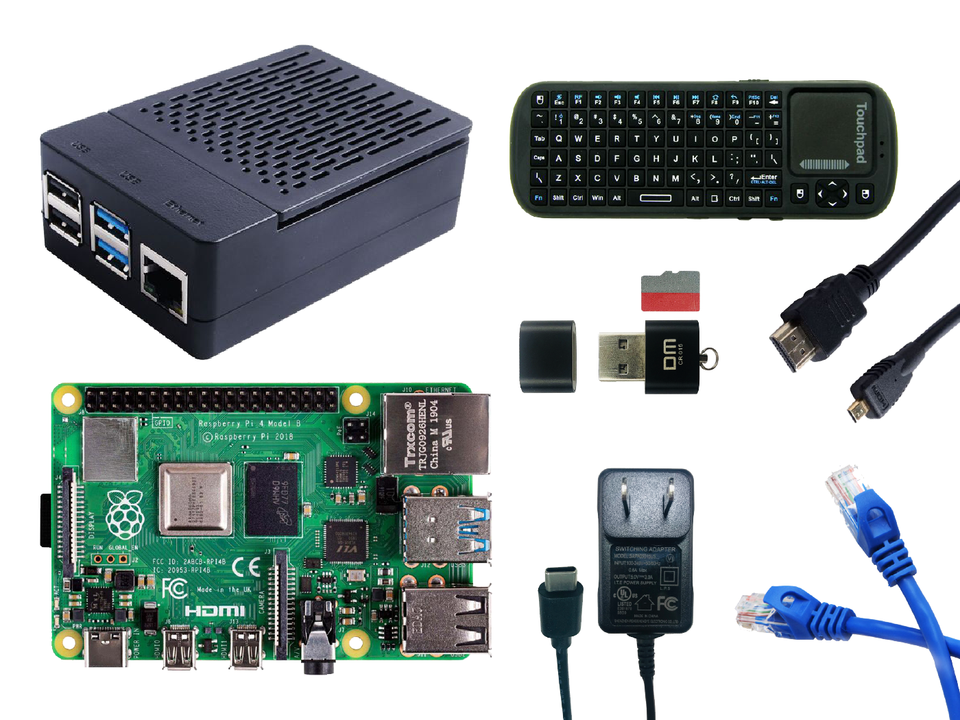 Raspberry Pi 4B - Deskstop Kit - 4GB